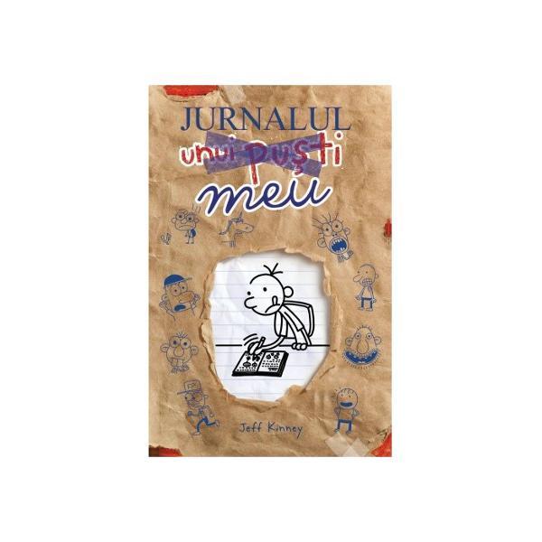 """""""În primul rând s&259; ne l&259;murim acesta este un JURNAL nu un jurnal intimJurnalul unui pu&351;tiî&355;i d&259; ocazia s&259; fii autor ilustrator &351;i personaj principal Cu o mul&355;ime de pagini interactive dar &351;i cu suficient spa&355;iu în care s&259; scrii povestea vie&355;ii tale aceast&259; carte este tot ce-&355;i trebuie pentru a crea propria capodoper&259; Dar dup&259; ce termini ai"""