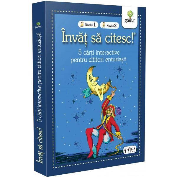 Pachetul Înv&259;&539; s&259; citesc - 5 c&259;r&539;i interactive pentru cititori entuzia&537;tieste destinat copiilor care &537;tiu s&259; citeasc&259; dar sunt la început de drum pentru ei fiecare poveste pe care o deslu&537;esc singuri este o victorie În interior ve&539;i g&259;si 4 c&259;r&539;i de nivelul 1 în care textul este pres&259;rat cu ilustra&539;ii
