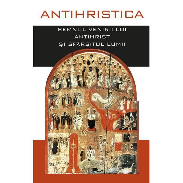 """""""Antihristica"""" este opera unui mare teolog ortodox care din smerenie a dorit sa ramana necunoscut Manuscrisul tradus din limba rusa a fost descoperit de Parintele ieroschimonah Paisie Lambru din Sfantul Munte Athos care impresionat de continut s-a hotarat sa-l tipareasca Succesul de care s-a bucurat cartea in randul cititorilor a"""