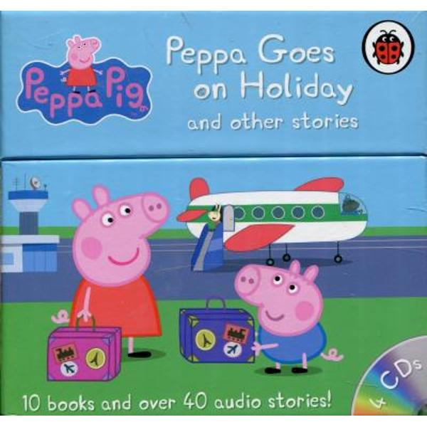 Peppa and her family go on their first holiday abroad They pack their suitcases and fly all the way to Italy where they eat pizza and go sightseeing But theres so much to see and do that Peppa keeps leaving poor Teddy behind Will he make it home in the end10 books and over 40 audio stories