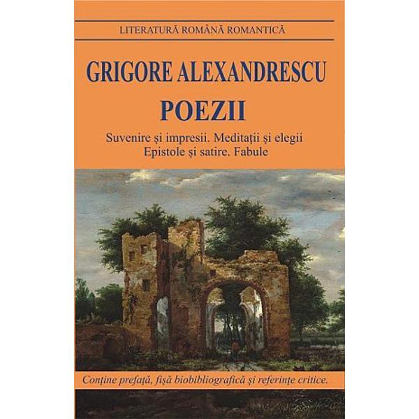 Poezii Grigore Alexandrescu