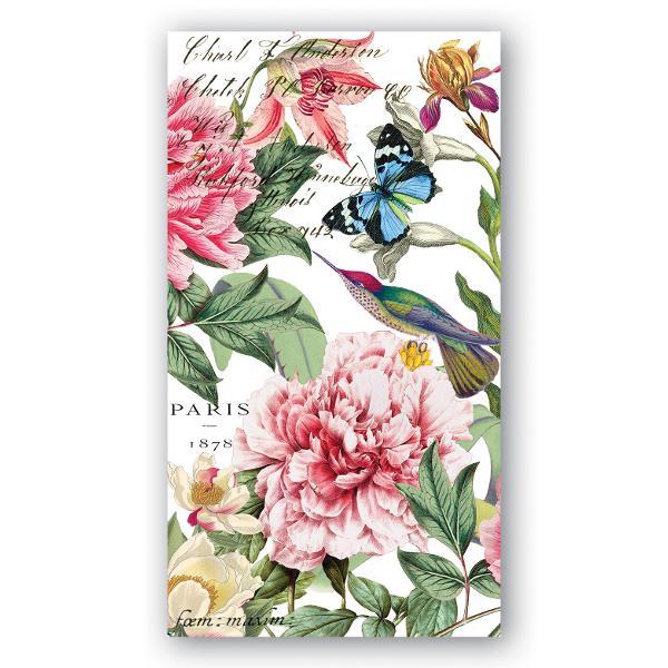 Servetele 3 straturi de hartie tiparita cu motive floraleAmbalare 15 bucsetDimensiune produs 11 x 20 cm
