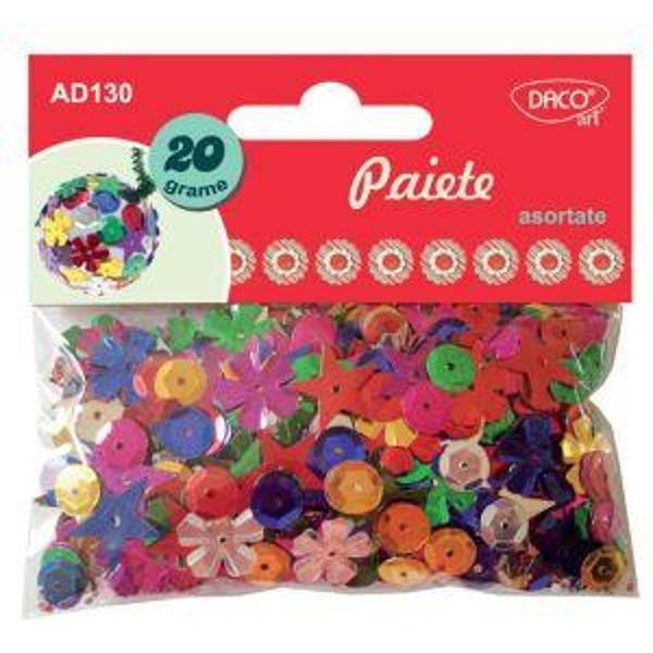 Set 20 de grame de paiete asortate cudimensiuni variabile culori asortate