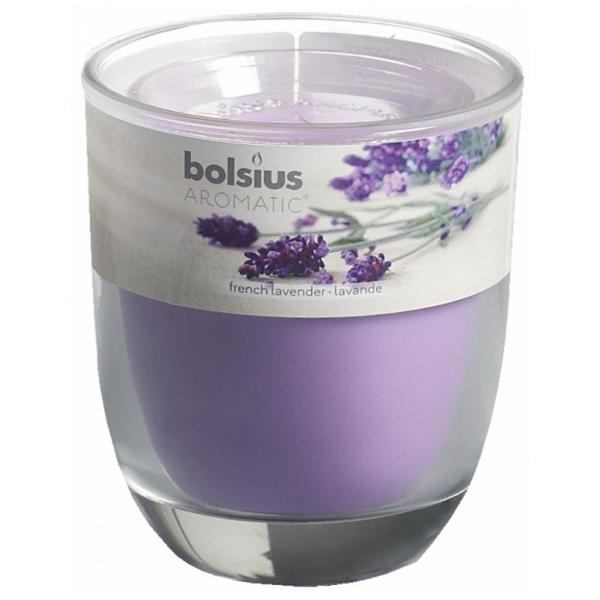 Lumânare parfumat&259; în pahar - lavandaGreutateabuc 290 gDiametru70 mm;În&259;l&355;ime80 mmTimp de ardere 23 ore