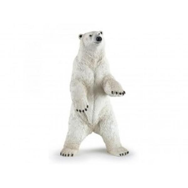 Urs polar in picioare - Figurina PapoJucariaUrs polar in picioareeste o figurina pictata manual care aduce produsul foarte aproape de realitate prin cele mai mici detalii realizate cu o acuratete inaltaFigurinaUrs polar in picioarepoate fi o jucarie educationala pentru