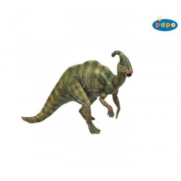 Figurina Papo -ParasaurolophusJucarie educationala realizata manual excelent pictata si poate fi colectionata de catre copii sau adaugata la seturile de joaca cum ar fi animale preistoriceetcUn excelent stimulent pentru a extinde imaginatia copiilor dezvoltand multe oportunitati de joacaNu contine substante toxiceDimensiuni Lx l x h&160; 19 x 4 x 12 cmVarsta 3 ani
