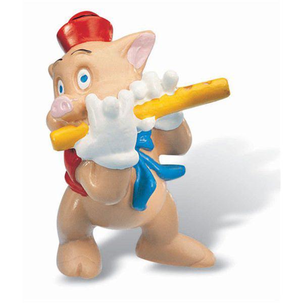 Figurina jucarie reprezentand personajul din desene animate purcelusul flautist     Detalii foarte asemanatoare cu cele reale    li stylelist-style-type circle; list-style-image none; background