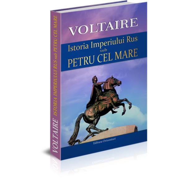ISTORIA IMPERIULUI RUS SUB PETRU CEL MAREdedicat&259; de Voltaire marelui &539;ar &537;i imperiului creat de acesta e scris&259; la rug&259;mintea expres&259; a &539;arinei Rusiei Ecaterina cea Mare cu care autorul francez a între&539;inut o coresponden&539;&259; amical&259; vreme de mai mul&539;i ani Cartea a fost considerat&259; o capodoper&259; a literaturii de gen &537;i folosit&259; mult timp de exege&539;ii europeni drept surs&259; de