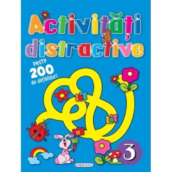 Carte de activitati pentru copii cu peste 200 de abtibilduri