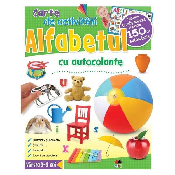 Aceast&259; carte de activit&259;&355;i cu autocolante stimuleaz&259; inteligen&355;a copiilor dezvoltându-le cuno&351;tin&355;ele vizuale Fiecare activitate este conceput&259; astfel încât s&259;-i ajute pe cei mici s&259; deprind&259; abilit&259;&355;i esen&355;iale cum ar fi • recunoa&351;terea cuvintelor• însu&351;irea vocabularului• pronun&539;ia• scrierea• sunetele