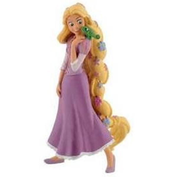 Figurina jucarie Rapunzel cu floriDimensiune 10 cm