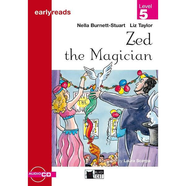 Versiune in limba engleza A lively mystery story involving a magician called Zed some daring school children and a crime to be solved Children practise their English as they read following the clues to find who the mystery thief is