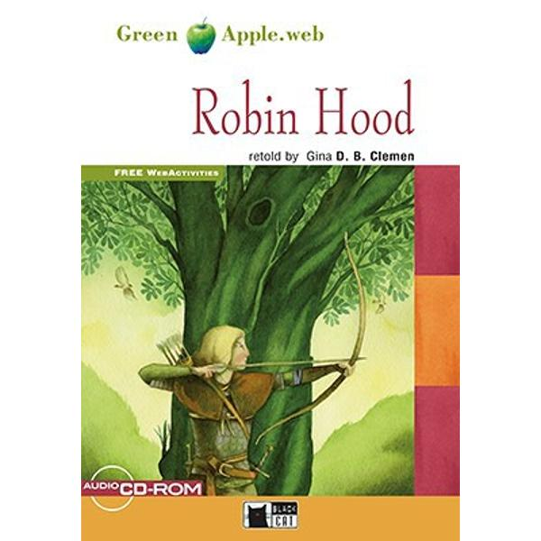 Versiune in limba engleza Robin Hood the legendary hero of Sherwood Forest has captured the imagination of generations of readers with his noble ideals and unforgettable adventures Why did Robin Hood become an outlaw How did Marian find Robin in Sherwood Forest How was the wicked Sheriff of Nottingham punished Join the millions of readers who have explored the exciting world of legendsDossiersMedieval Times in Englandbr
