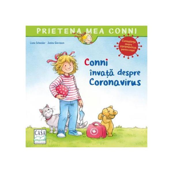 Conni ar dori s&259; se distreze din nou cu prietenii ei s&259; fac&259; împreun&259; sport sau s&259; se b&259;l&259;ceasc&259; în piscin&259; Dar mama &537;i tata îi spun c&259; acest lucru nu este înc&259; posibil din cauza Coronavirusului care este foarte contagios &537;i te poate îmboln&259;viDin fericire te po&539;i proteja dac&259; respec&539;i câteva reguli simple &536;i împreun&259; nu este chiar atât de
