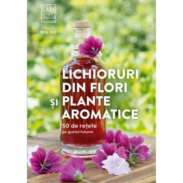 CarteaLichioruri din flori &537;i plante aromatice - 50 de re&539;ete pe gustul tuturoreste o invita&539;ie de a folosi aromele plantelor &537;i fructelor pentru a crea lichioruri deosebite gustoaase &537;i savuroase atât de deosebite de cele disponibile în comer&539; cu gust tot mai uniformizat Din paginile c&259;r&539;ii afl&259;m ce este de fapt un lichior ce con&539;ine acesta cum se prepar&259; el ustensilele necesare Apoi sunt