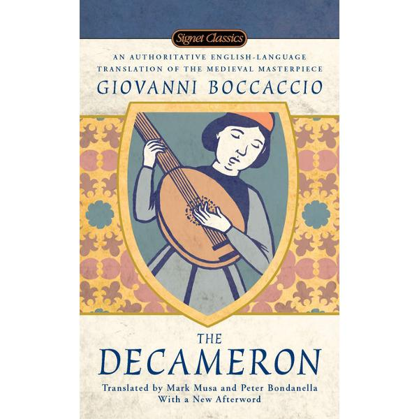 Versiune in limba englezaABOUTTHE DECAMERONSet against the background of the Black Death of 1348 Giovanni Boccaccio's undisputed masterpiece recaptures both the tragedies and comedies of medieval life and is surely one of the greatest achievements in the history of literature