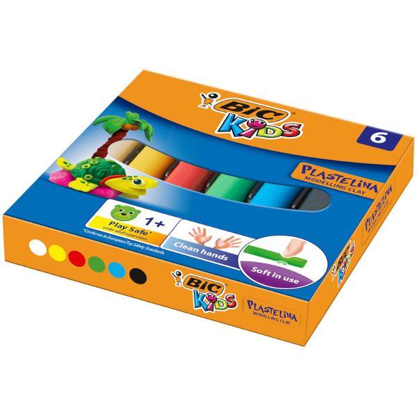 Gama BIC Kids a fost creata pentru a oferi copiilor produse usor de utilizat care stimuleaza imaginatia si creativitatea acestora imbunatatind in acelasi timp dexteritatea acestora Cu ajutorul kitului de modelare BIC Kids Plasticine copiii vor fi introdusi in bucuria modelajului de la varsta de un an sub supravegherea unui adult Ei vor avea libertatea de a da viata unor forme fantastice si minunate care le populeaza imaginatia Ei vor dori in mod special sa utilizeze aceasta plastilina