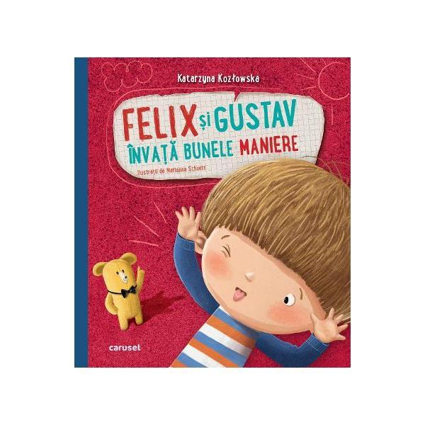 """Felix este deja prescolar si a venit timpul ca el sa deprinda bunele maniere Din aceasta carte va invata ca atat acasa cat si la gradinita ar trebui sa se comporte intr-un anumit fel Cu ajutorul """"Codului prescolarului"""" el se va obisnui sa utilizeze cuvintele magice """"te rog"""" """"scuze"""" sau """"multumesc"""" sa fie cuviincios ordonat si empatic si va sti cum sa se poarte in parc la teatru sau pe stradaCartea Felix"""