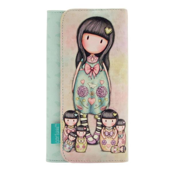 Portofel lung Gorjuss Seven SistersCea mai draguta solutie pentru problema pastrarii lucrurilor&160;Dimensiuni&160;10x19x3 cm