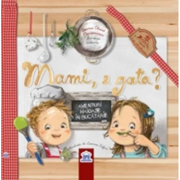 """A doua carte pentru copii si parintia Printesei Urbane  Autor Ioana Chicet Macoveiciuc Ilustratii Lavinia Trifan  Ioana Chicet Macoveiciuc este jurnalist de profesie autoarea unuia dintre cele mai cunoscute bloguri de familie wwwprintesaurbanaro si a bestsellerului """"Te iubesc orice-ai face""""  Mami e gata este o carte cu aventuri haioase în buc&259;t&259;rie cu un personaj deja cunoscut copiilor &537;i p&259;rin&539;ilor Ema"""