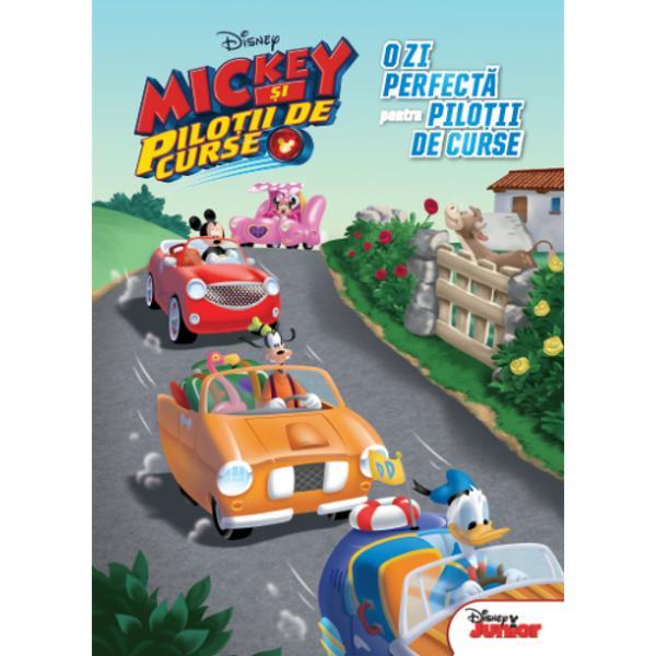 Ambaleaz&259; motorul &537;i al&259;tur&259;-te lui Mickey &537;i prietenilor lui de la Disney Junior Fie c&259; particip&259; la cea mai tare curs&259; din Italia fie c&259; petrec o zi de distrac&539;ie între prieteni sau vin în ajutorul celor care apeleaz&259; la serviciile firmei de succes a lui Minnie &537;i Daisy cei &537;ase prieteni sunt gata s&259; porneasc&259; în aventur&259; la vitez&259; maxim&259;