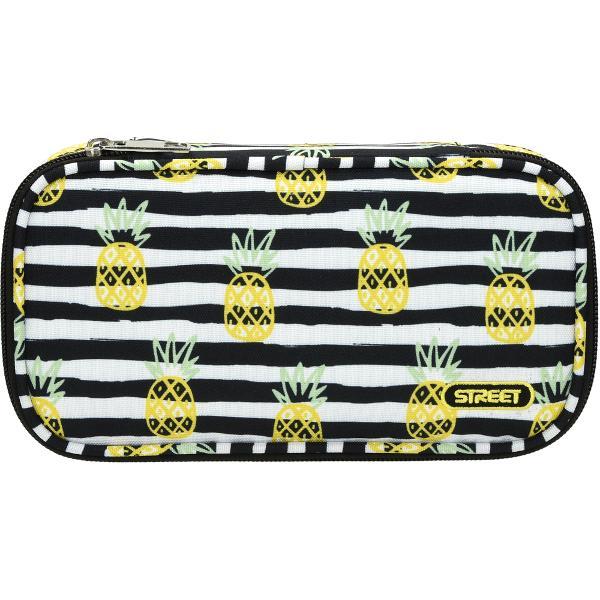 Penar oval Street United Pineapple fermoar un compartiment Dimensiuni 225 x 4 x 12 cm