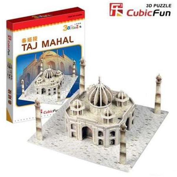 Descriere Puzzle 3D CubicFun CBFA Taj MahalPUZZLE 3D - CBFA - Taj MahalTaj Mahaleste un monument in orasul Agra India A fost construit de Imparatul Shah Jahan drept mausoleum pentru sotia sa Cladirea a fost construita intre 1630 si 1653 In anul 1983 Taj Mahal a devenit parte din patrimoniul mondial UNESCO si ramane si pana astazi printre cele mai vizitate si faimoase