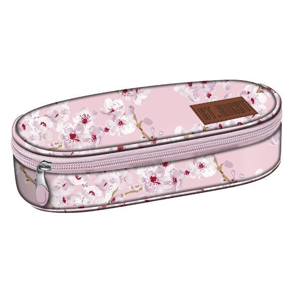 Penar simplu StRight Blossom fermoar 1 compartiment Dimensiuni 7 x 24 x 12 cm