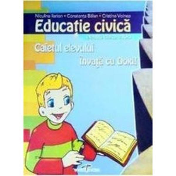 Educatie civica caiet clasa a IV a