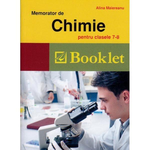 Memorator de chimie clasele VII-VIII 2016