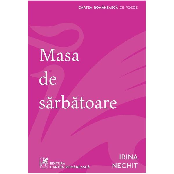 """Irina Nechit are darul de-a putea da glas dramatismului inaparent al existen&539;ei de toate zilele Prin verbe simple """"prozaice"""" poeta traseaz&259; grani&539;a dintre dou&259; lumi cea a poeziei &537;i cea a non-poeziei Instantaneul realist poeta e contemplativ&259; dar &537;i o observatoare sfredelitoare inocent-amar&259; a ambientului se învecineaz&259; cu insertul suprarealist posedând aceea&537;i capacitate de absorb&539;ie a realului care"""