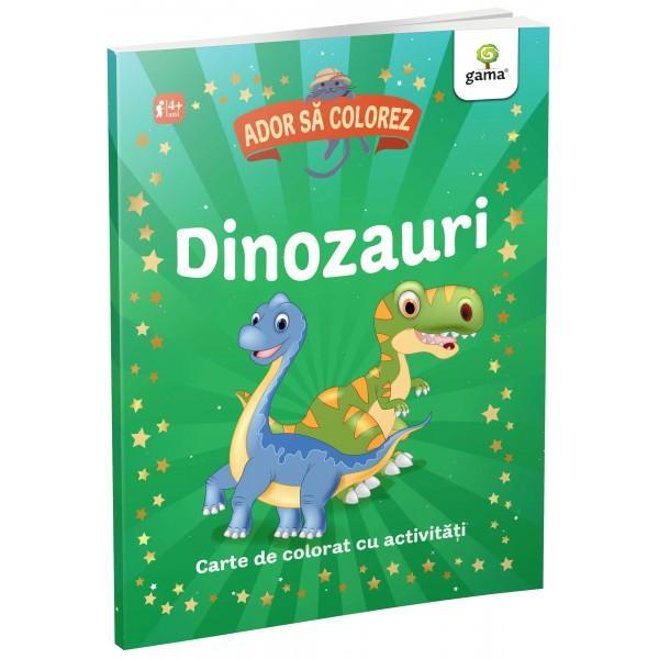 Descopera minunata lume a dinozaurilorColoreaza si rezolva activitatile dinaceasta carte împreuna cupersonajele amuzante ca sa-tidezvolti atentia si imaginatia Aventura te asteapta