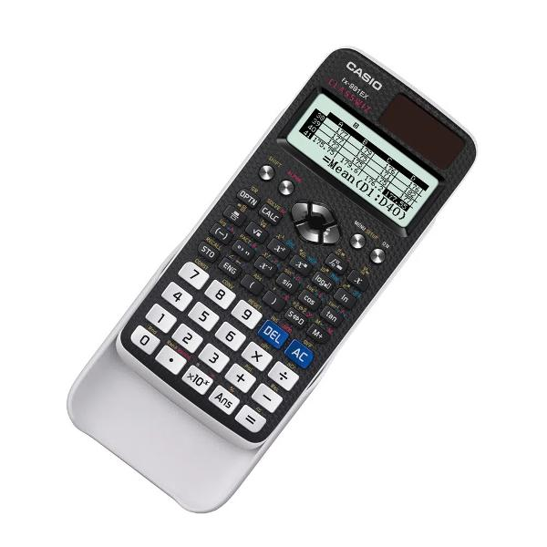 Calculator &537;tiintific Casio FX-991EX552 func&539;iiSeria ClassWizcu ecran LCD de înalt&259; rezolu&539;ie &537;i multe alte accesoriiofer&259; un nou afisaj LC de înalt&259; rezolu&539;ie de192 × 63 pixeli&537;i o rezolu&539;ie de patruori mai mare decât cea a afisajelor familiare ale serieiFX-ES Plus În plus noua