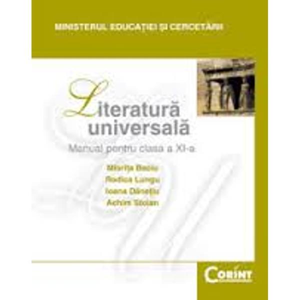 Literatura universala clasa a XI-a