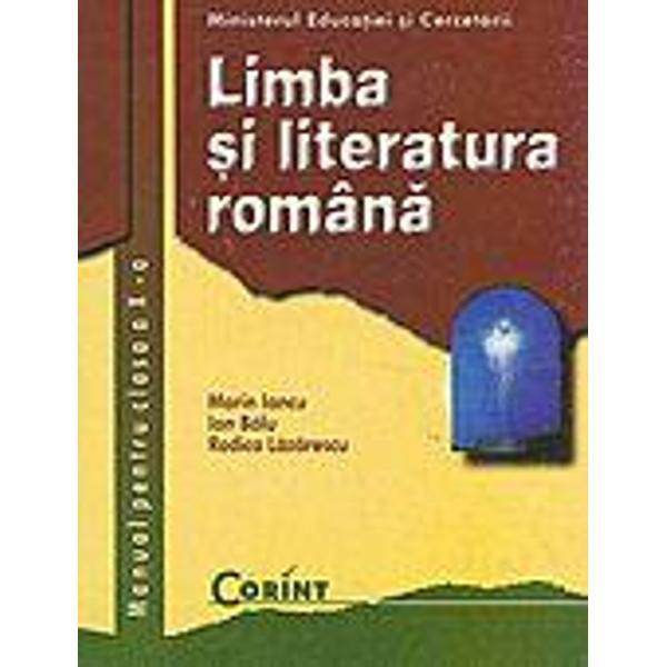 Limba si literatura romana clasa a X-a