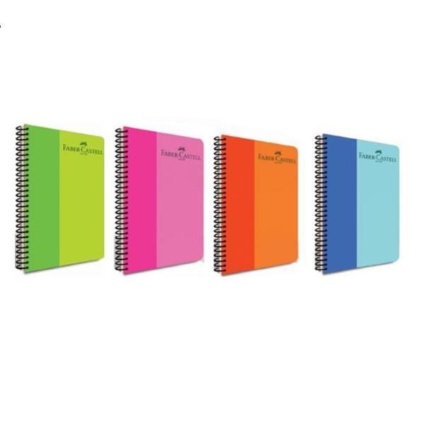 DescriereCaiet spira coperta bicoloracoperta si spira din plastic200 file hartie de calitate de 70gformat A4coli preperforate pentru desprindere usoara