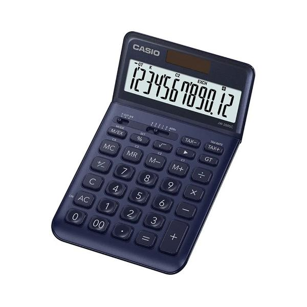 Calculator de birou Casio JW-200SC 12 digitsDate generale• Ecran mare de 12 cifre cu semne de comanda a functiilor• Alimentare in doua moduri• Dimensiuni L x W x L 11 x 109 x 184 cm• Greutate aprox 150 g• Tasta rotunjire•