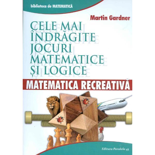 Martin Gardner 1914-&128;&147;2010 a fost un bine-cunoscut autor american de c&259;r&539;i de popularizare a matematicii &537;i &537;tiin&539;elor A &539;inut vreme de dou&259;zeci &537;i cinci de ani o rubric&259;&160;de &128;&158;Jocuri Matematice&128;&157; &238;n prestigioasa revist&259;&160;Scientific American iar materialul acestora a format con&539;inutul c&226;torva volume de puzzle-uri matematice Prezentul volum con&539;ine o