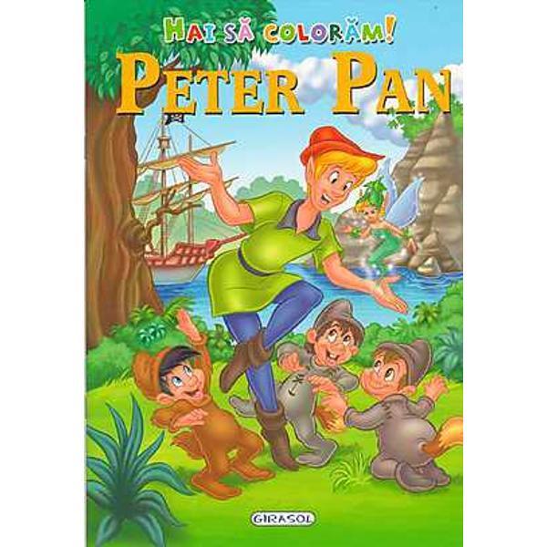 Hai sa coloram Peter Pan