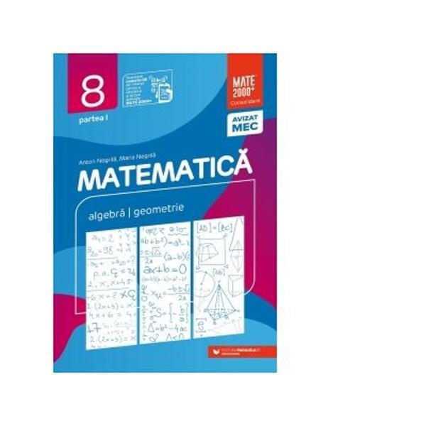 Avizat MEC conform OM nr 531821112019Seria de lucr&259;ri&160;MATE 2000 CONSOLIDARE destinat&259; claselor de gimnaziu respect&259; toate cerin&539;ele programei referitoare la&160;competen&539;e generale competen&539;e specifice &537;i con&539;inuturi oferind sugestii metodologice&160;dintre cele mai atractivePrin urmare pentru fiecare capitol din program&259; sunt prev&259;zute un text teoretic