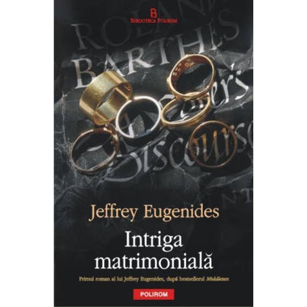La numai o luna de la lansarea in Statele Unite ale Americii Intriga matrimoniala &8211; primul roman al lui Jeffrey Eugenides de dupa bestsellerul Middlesex &8222;Cartea anului 2011 neasteptata captivanta si magnific construita&8221; The New York Times Book Review Traducere de Dana Craciun Intriga matrimoniala 2011 ne plaseaza in America la inceputul anilor &8216;80 Tara este in recesiune ca si viata de colegiu Insa cafenelele sint pline de copii invatati care citesc