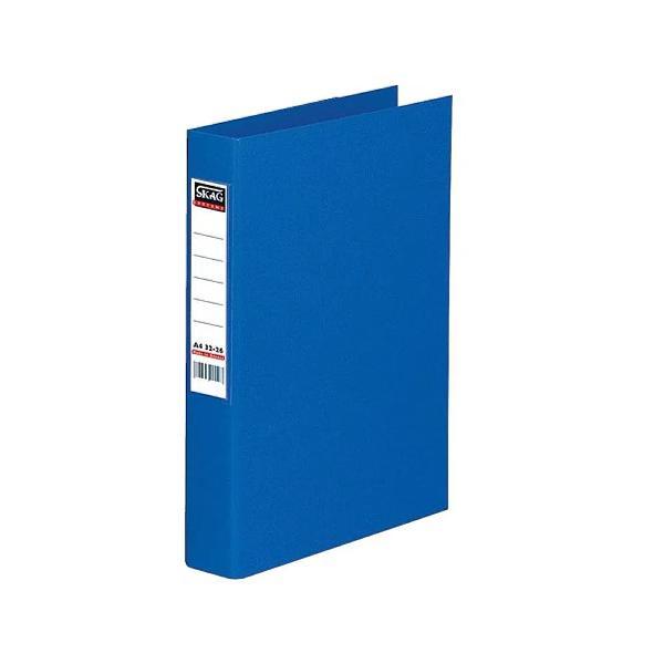 Caiet mecanic Skag A4 cu 4 inele albastru Stocarea prezentarilor a listelor de preturi sau a altor materiale promotionale sunt acum floare la ureche datorita acestor caiete mecanice
