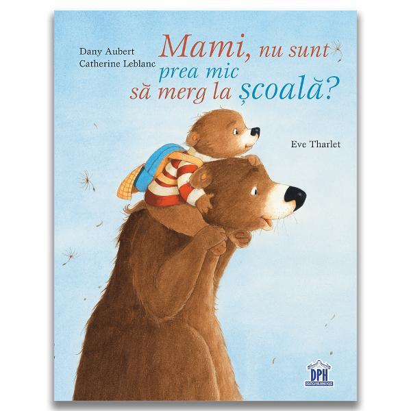 """Cartea """"Mami nu sunt prea mic s&259; merg la &537;coal&259;"""" ne prezint&259; povestea micu&539;ului Martin care dore&537;te s&259; fie mic de teama de a nu merge la &537;coal&259; Aceast&259; carte se adreseaz&259; tuturor copiilor cu varsta peste 5 ani Lui Martin îi place foarte mult s&259; fie mic iar surioara lui abia a&537;teapt&259; s&259; se fac&259; mare Martin este îngrijorat de faptul c&259; peste pu&539;in timp va"""