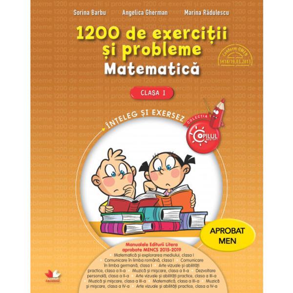 Materialul permite exersarea cuno&537;tin&539;elor înv&259;&539;ate &537;i dezvoltarea abilit&259;&539;ilor matematice Sarcinile de lucru sunt diverse &537;i au grade diferite de dificultateEdituraLitera Educa&355;ionalparte aGrupului Editorial Literafondat în 1989 public&259; &537;idifuzeaz&259; manuale &537;i auxiliare &537;colare în format tip&259;rit &537;i digital precum