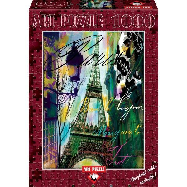 Puzzle 1000piese -BONJOUReste un puzzle excelent pentru cei pasionatiPuzzle-ul de la Heidi te va purta intr-o calatorie de neimaginat Puzzle-ul cu 1000 de piese de imbinat alcatuieste o plansa dreptunghiulara o superba imagine care poate fi inramataCompletarea