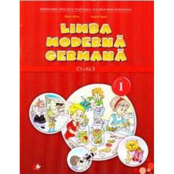 Limba moderna germana clasa I SemI  CD - Naomi Achim Eugenia Rosian