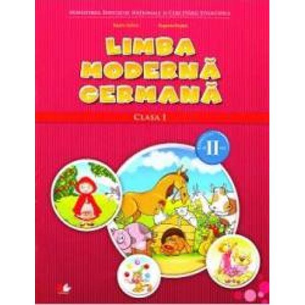 Lima Moderna Germana clasa I sem al II-lea  CD - Naomi Achim Eugenia Rosian