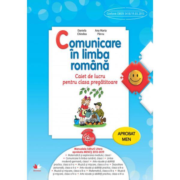 Elaborate în conformitate cu programa &537;colar&259; în vigoare caietele de lucru sunt centrate pe activitatea micului &537;colar propun activit&259;&539;i de înv&259;&539;are noi &537;i atractive &537;i valorific&259; abilit&259;&539;ile competen&539;ele &537;i cuno&537;tin&539;ele elevilor în domeniile comunicare în limba român&259; matematic&259; &537;i explorarea mediului dezvoltare personal&259; &537;i arte vizuale &537;i
