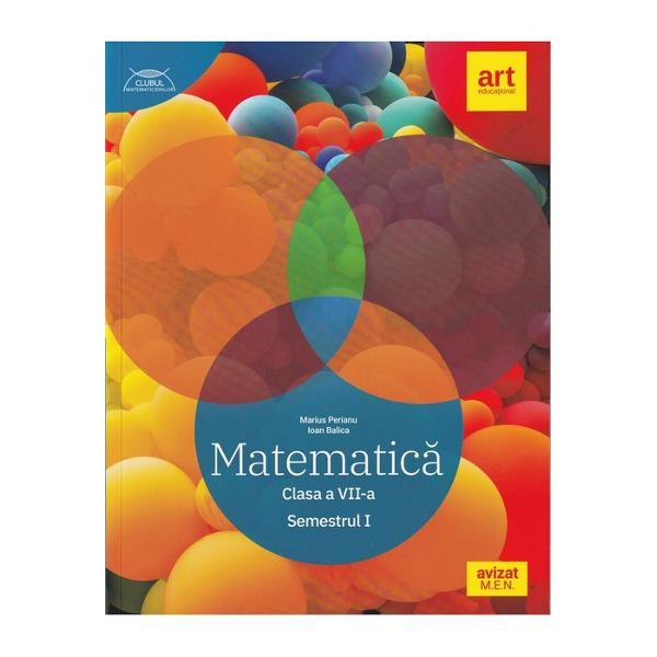 Matematic&259; Clasa a VII-a Semestrul 1 Prezentul auxiliar a fost avizat de Ministerul Educa&355;iei Na&355;ionale prin Ordinul nr 5318 din 21112019 &351;i se reg&259;se&351;te la pozi&355;ia nr 23 din anexa Ordinuluidiv