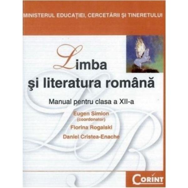 Limba si literatura romana clasa a XII-a